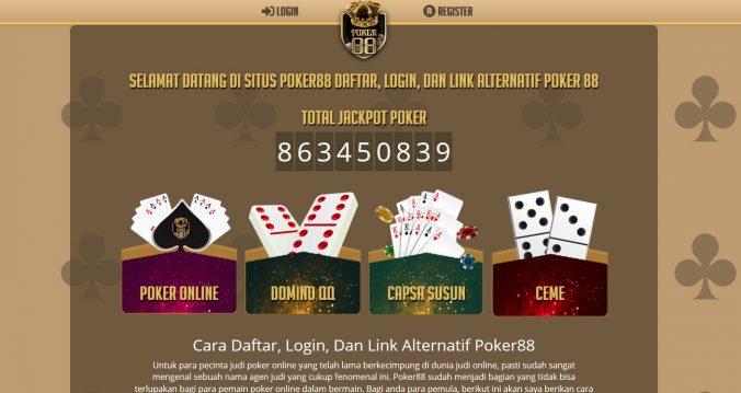 Poker88: SITUS POKER ONLINE IDNPLAY TERBAIK DENGAN UANG SUNGGUHAN